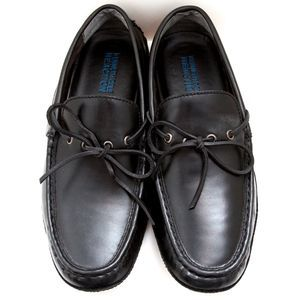 Kenneth Cole Smooth Landing Black Driving Moc 9.5M